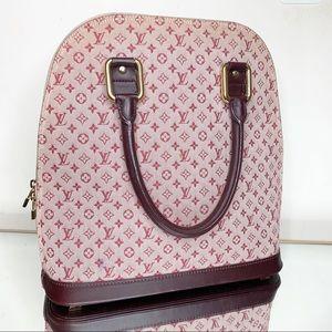 Authentic Louis Vuitton canvas and leather purse